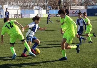 Alevines Ebro - Union la Jota Vadorrey