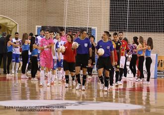 D-Link Zaragoza vs Catgas E.Santa Coloma