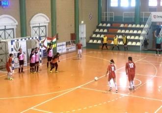 Futbol femenino Sala Zaragoza San bernabe