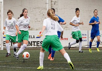 Futbol femenino Utebo peñas Oscenses