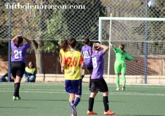 Futbol femenino Zaragoza B Los Molinos
