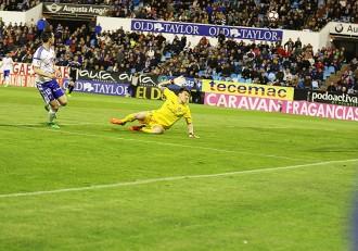 Gol Lanza Real Valladolid