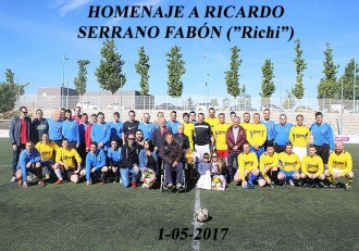 Homenaje a Ricardo Serrano