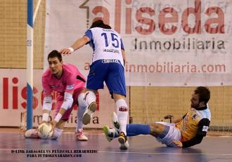 Iván Bernad D-Link Zaragoza vs Peñíscola