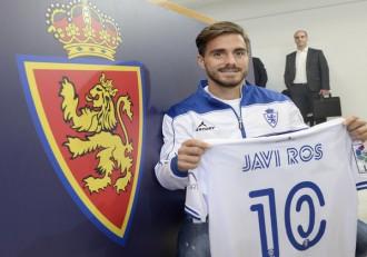 Javi Ros Real Zaragoza presentación