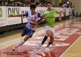 Jorge Tabuenca D-Link Zaragoza Vs. Palma Futsal